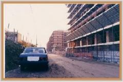 Gennaio 1994: Viale Ratto delle Sabine. Notare di quanto è stata abbassata l'area.