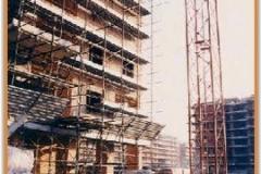 Gennaio 1994: i lavori procedono.