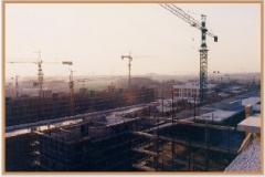 Gennaio 1994: vista dall'alto di Viale Ratto delle Sabine.