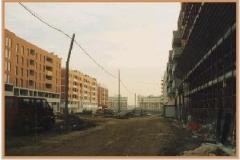Gennaio 1995: posa fognature.