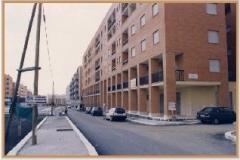 Settembre 1995: si delinea l'aspetto definitivo del viale.