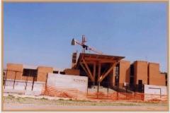Aprile 1999: si delinea l'aspetto definitivo della Chiesa.
