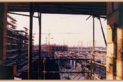Gennaio 1994: Via Conti di Rieti e la Centrale Elettrica.