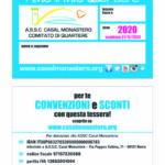 Tessera 2020 ASSC CASAL MON